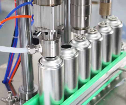 Contract manufacturing of aerosol products