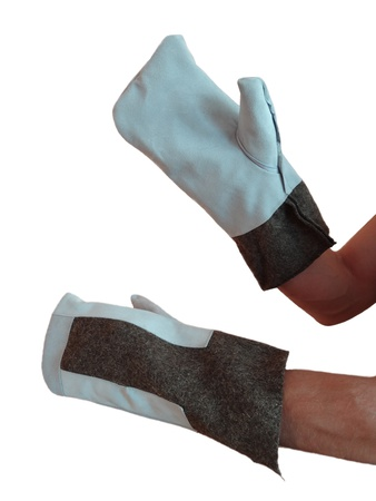 U-shaped Cover Mitts