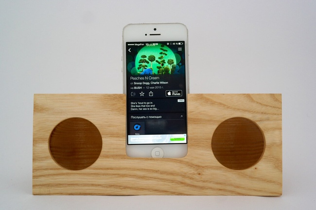 Acoustic Phone Stand