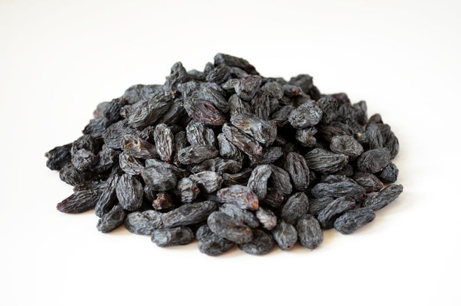 Raisin black grade the highest