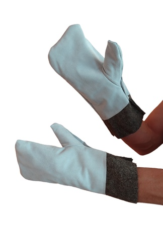 All-cutting-out Cover Mitts