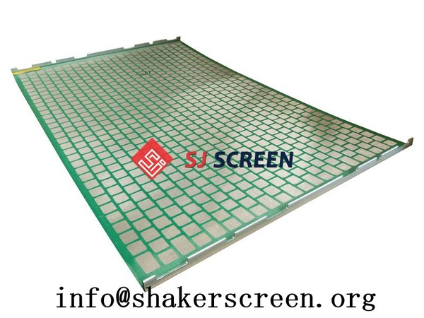 Hook Strip Flat Screen  shaker screens