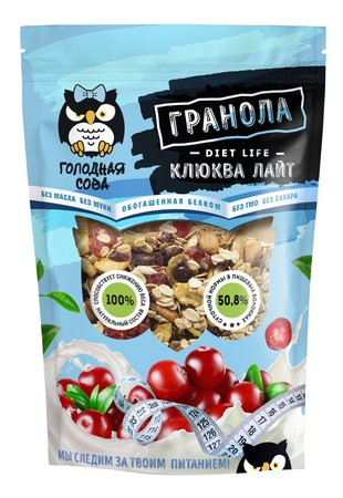 "Granola diet ""Cranberry light"""