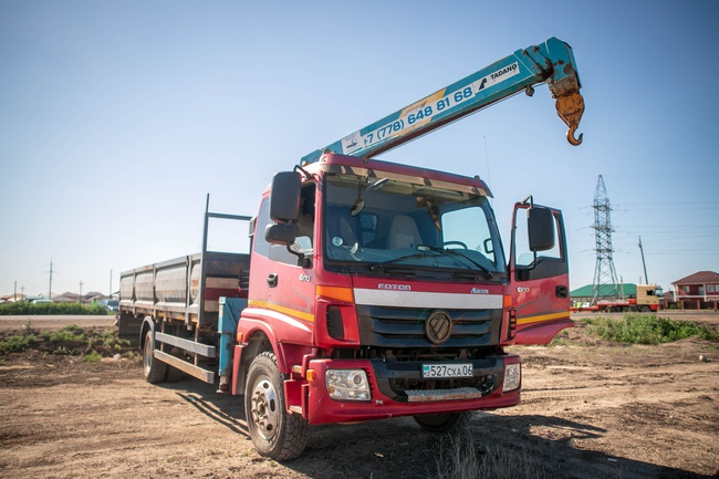 Rent, execution of works Front-end loader Atyrau