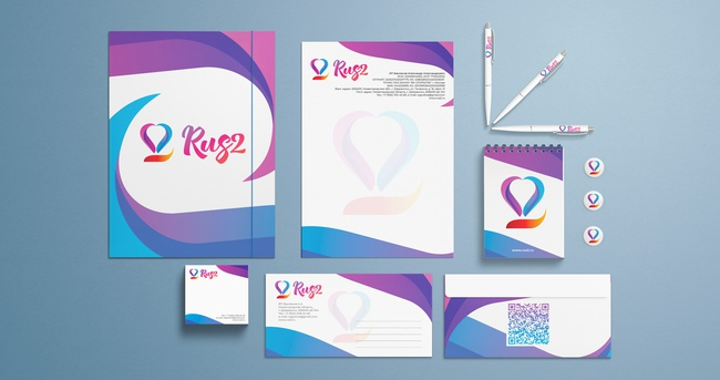 Creation of corporate identity design