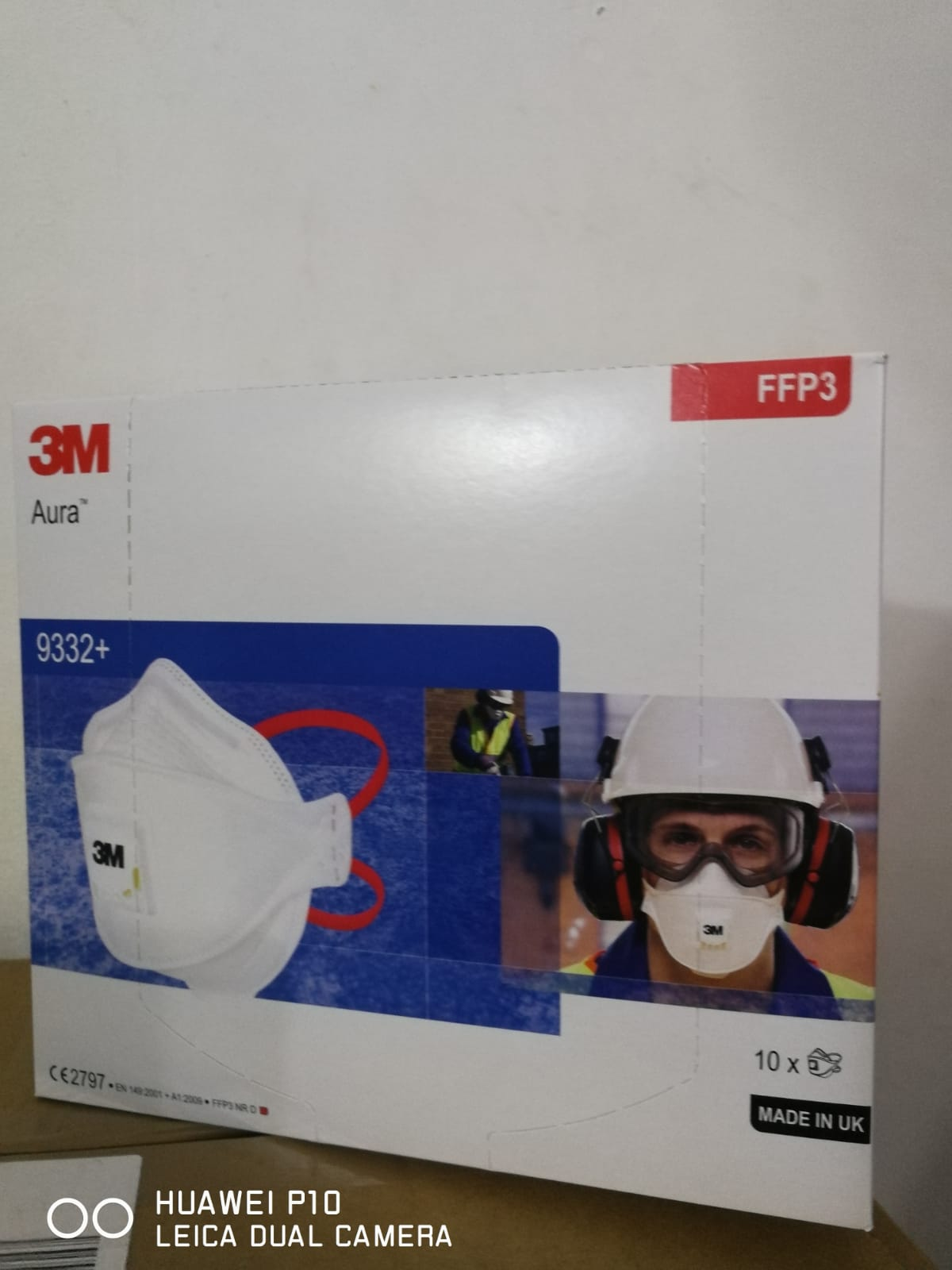 <p>need respirators 3M 9332 + aura Ffp3 original. Volume from 100 thousand to 3 million units, payment through a letter of credit. Need to deliver to Romania, Cluj Airport</p>