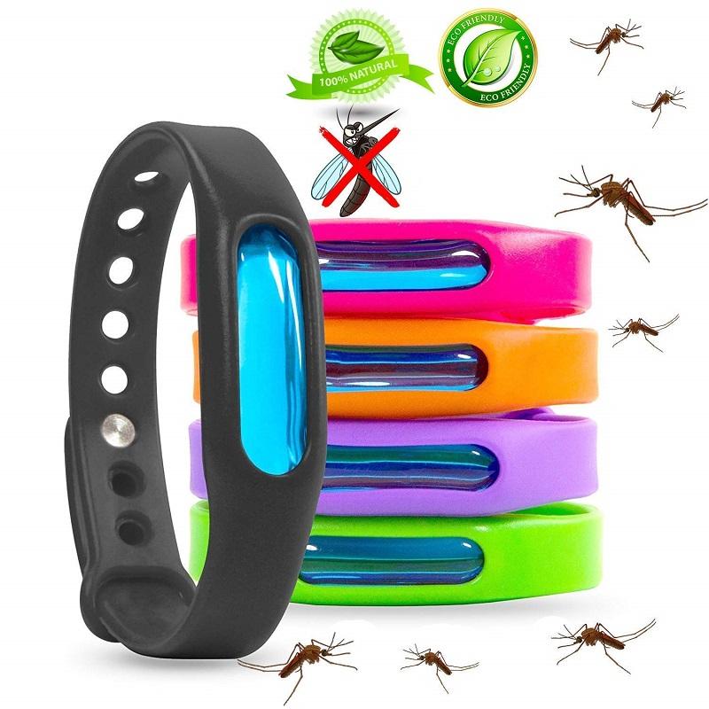 Силиконовый браслет для отпугивания насекомых Wristband в Железнодорожном