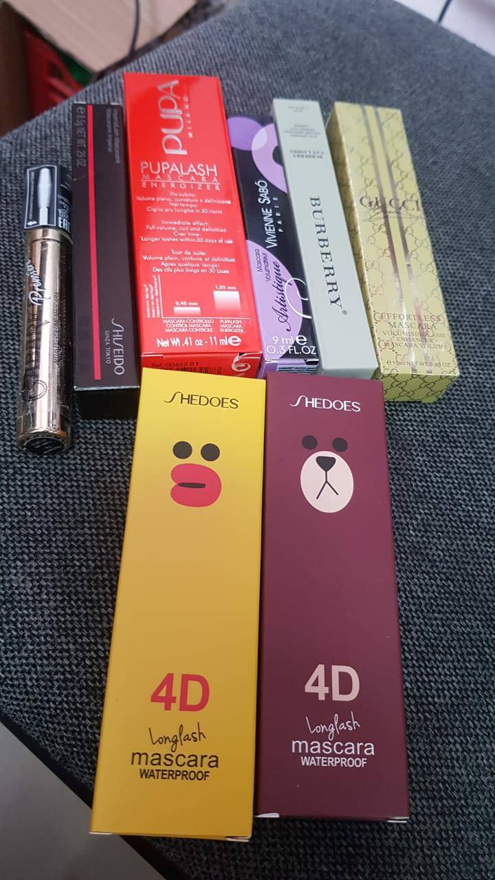 Buying cosmetics from China and Korea at low prices. Budget : $ 130 - $ 260
