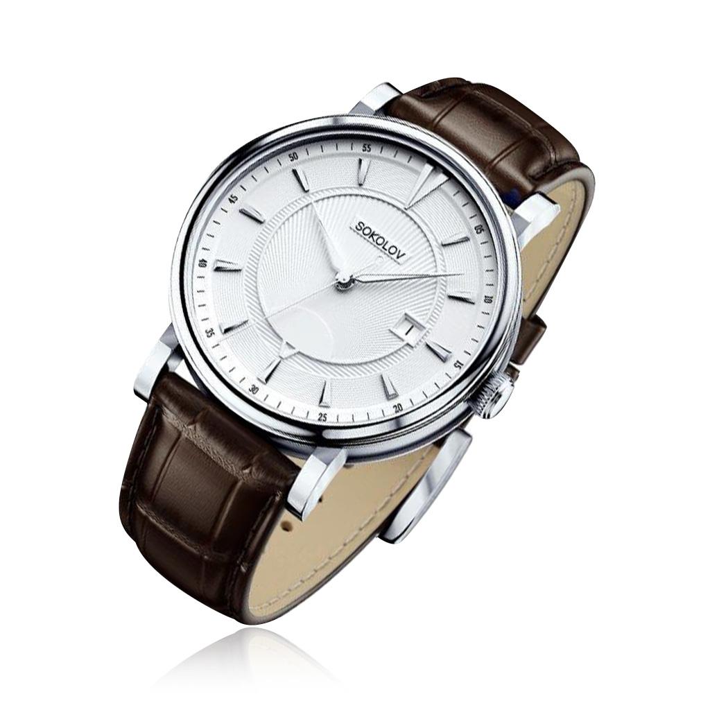 Мужские серебряные наручные часы ➤ модель в фирменных магазинах alltime.