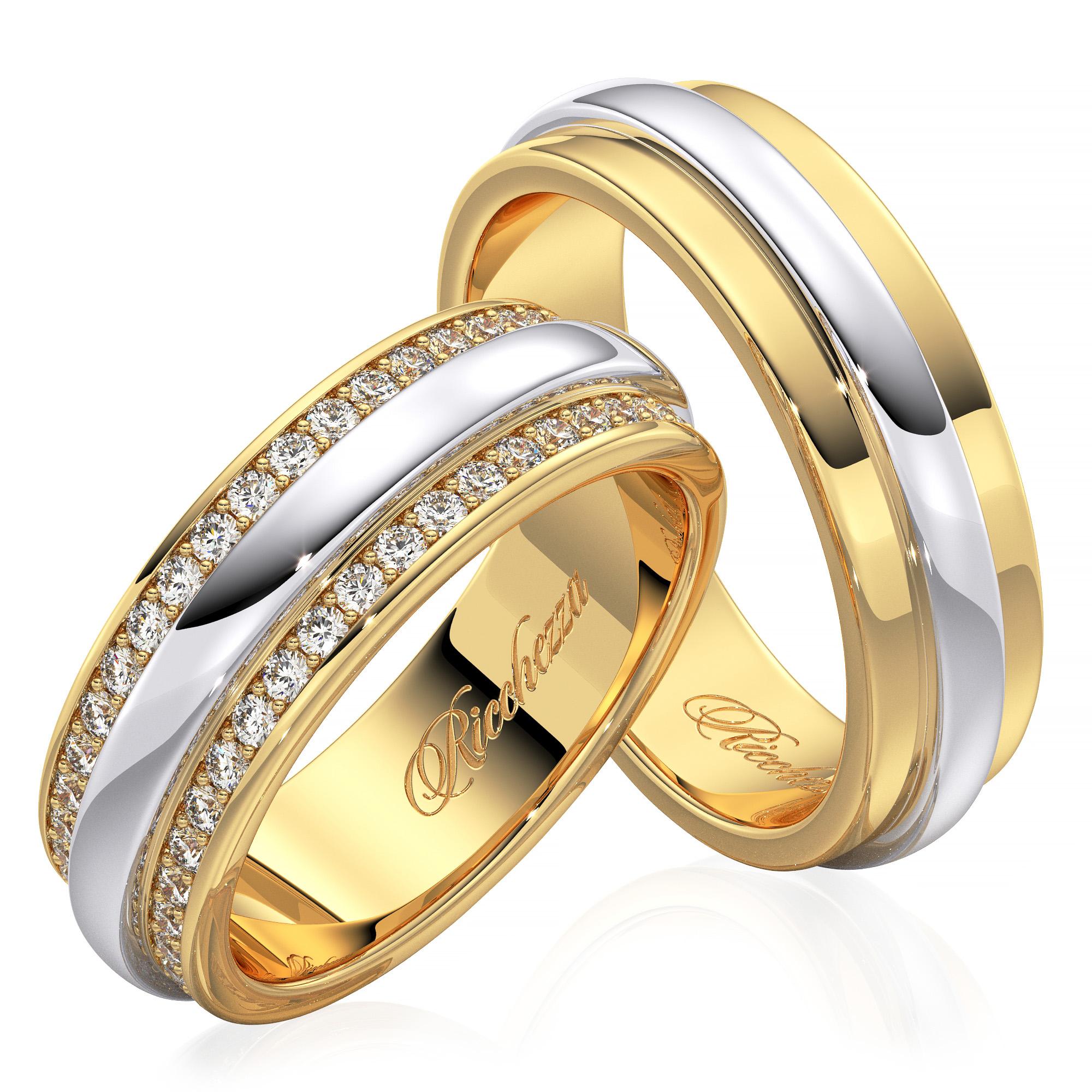 купить обручальные кольца недорого цена