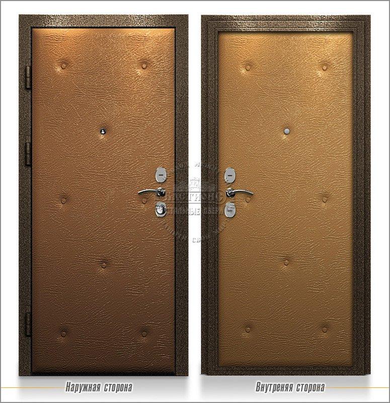 укрепленные стальные двери